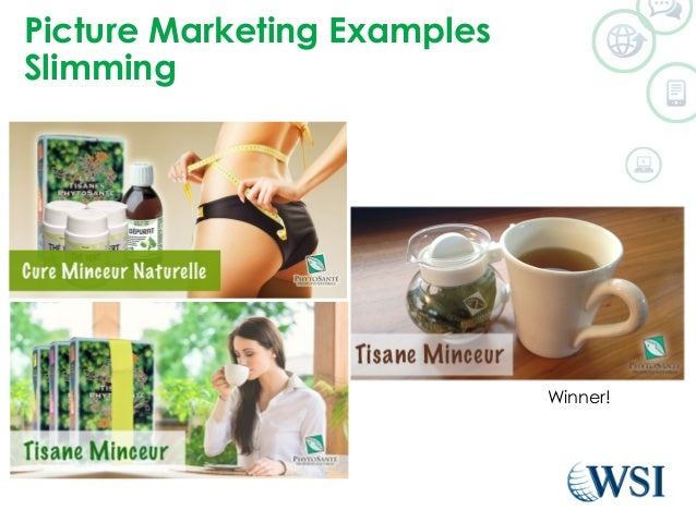 Picture Marketing Examples  Slimming  Winner!