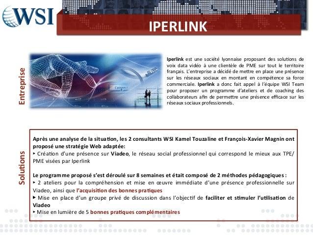 Wsiteam businesscase-iperlink Slide 2