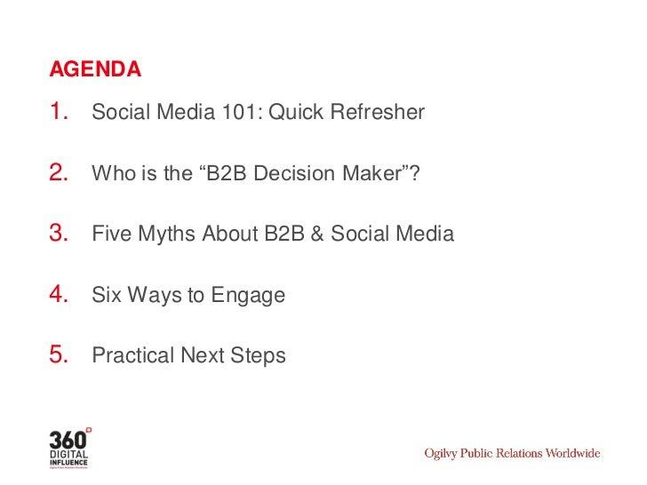 SOCIAL MEDIA 101 A QUICK REFRESHER
