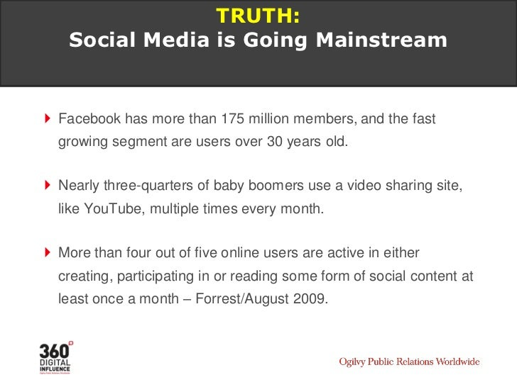 TRUTH: Word of Mouth Has Always Been Important      – Social Media Makes it Visible     In 2007, 15% of B2B Marketers sai...