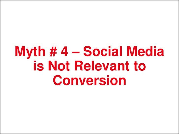 Myth # 5 – Social Media  is Not Worth the Risk