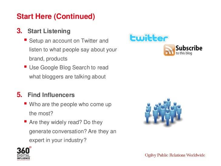 FURTHER READING:  Ogilvy On: Social Media for Crisis Management   Ogilvy On: Twitter for Business   Ogilvy On: Facebook...