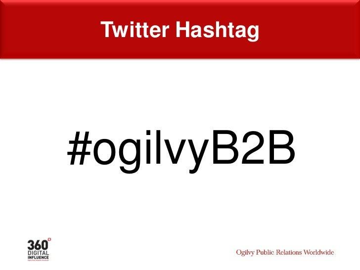Speaker     Brian Giesen Regional Director   360 Digital Influence Ogilvy Public Relations Worldwide @bdgiesen