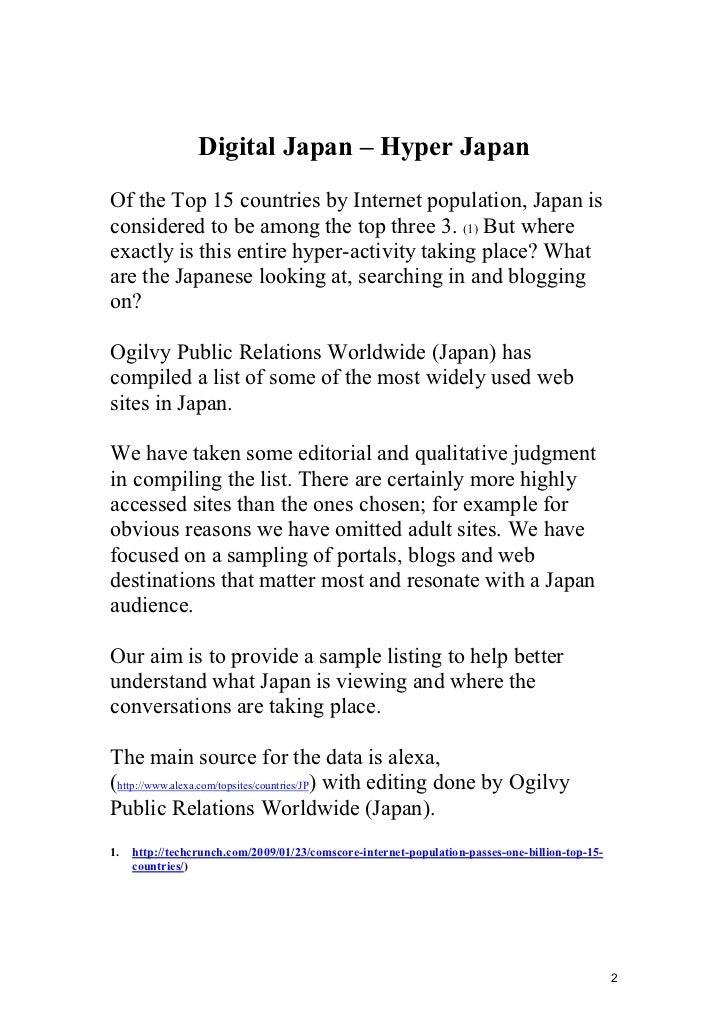 Top 50 Japanese Websites Slide 2