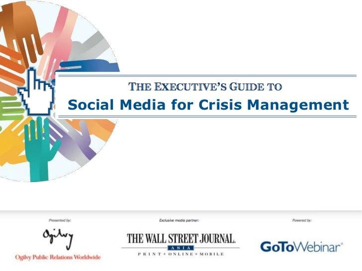 Social Media for Crisis Management<br />