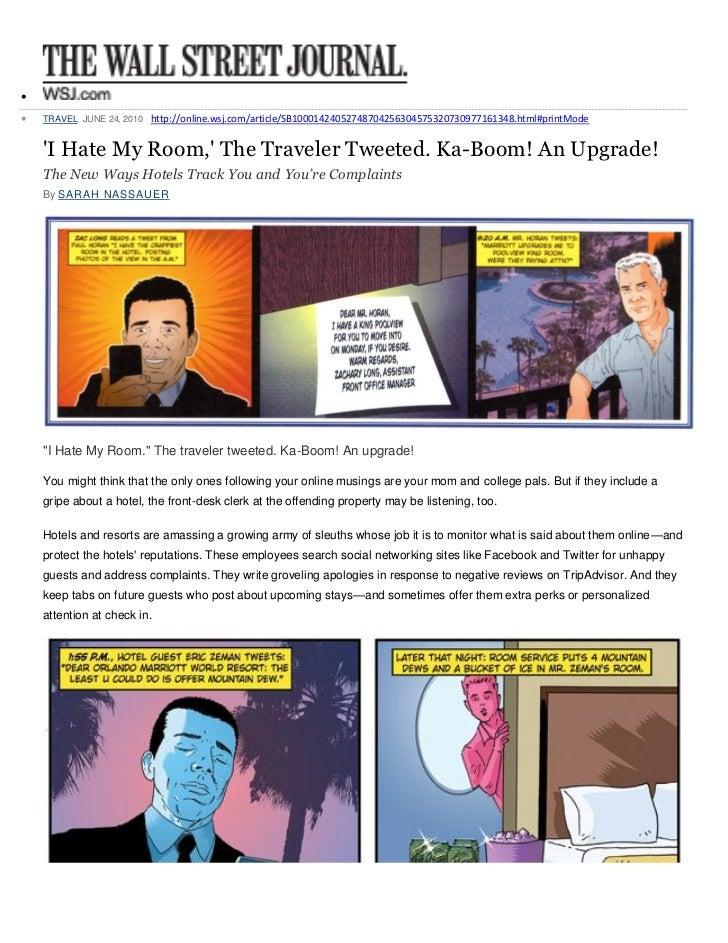    TRAVEL JUNE 24, 2010 http://online.wsj.com/article/SB10001424052748704256304575320730977161348.html#printMode    I Ha...