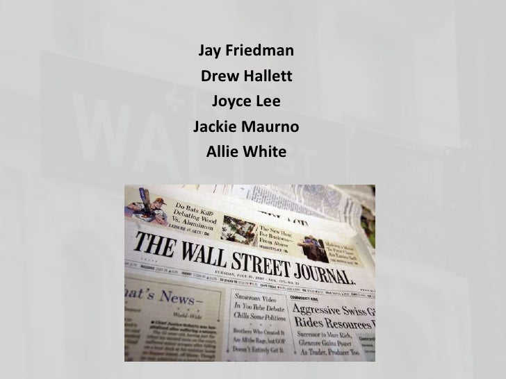 Jay Friedman<br />Drew Hallett<br />Joyce Lee<br />Jackie Maurno<br />Allie White<br />