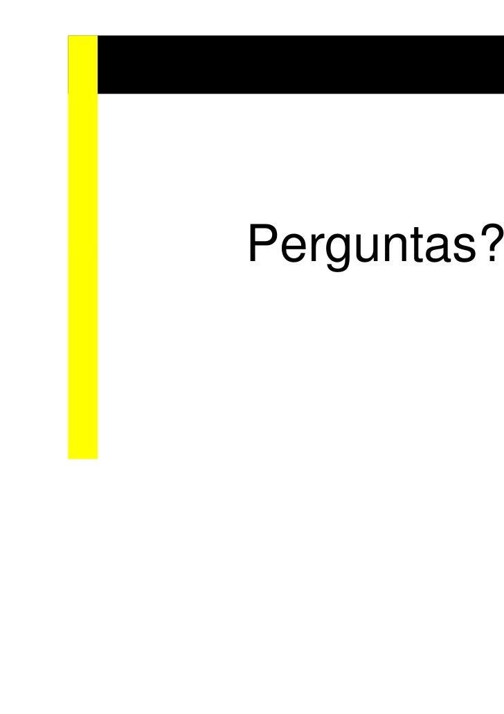 Wsl2011 Módulo SCRUM para Expresso Livre
