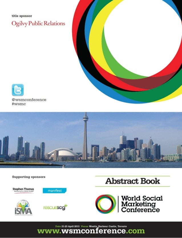 Social Marketing & Health Promotion: designing a public health model - G. Fattori, M.Vanoli, M. Bonì - World Social Market...