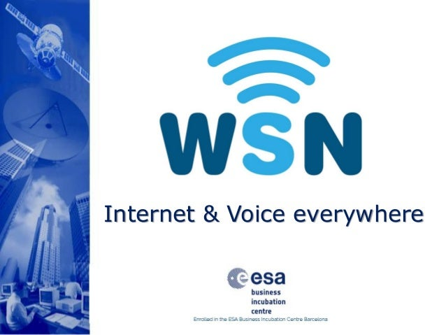 Internet & Voice everywhere