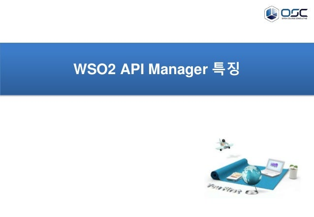 WSO2 API Manager 특징