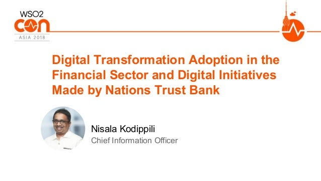 Chief Information Officer Digital Transformation Adoption in the Financial Sector and Digital Initiatives Made by Nations ...