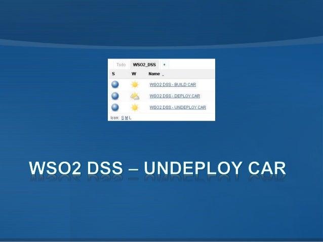 WSO2 DSS - JENKINS