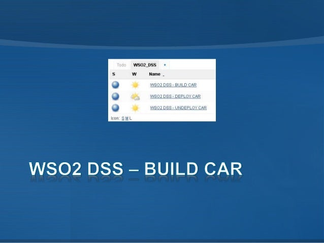 • Lo primero es construir todos los artefactos que componen la aplicación CAR y lo instalamos en nuestro repositorio local...