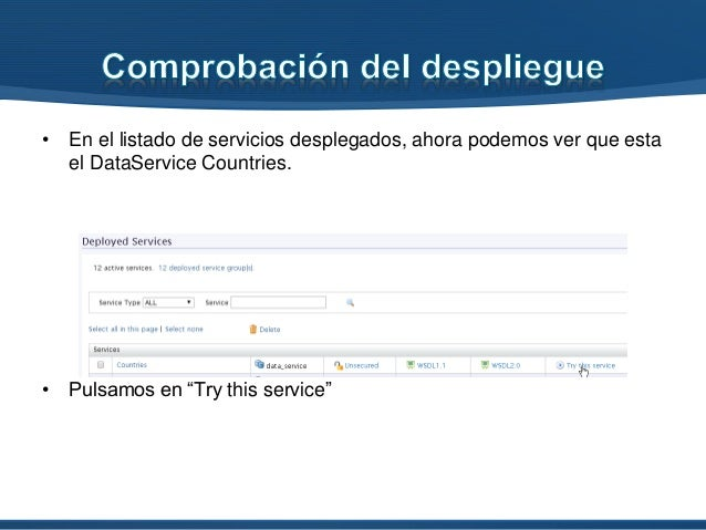 WSO2 DSS - Create a Data service