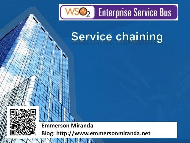 Emmerson Miranda Blog: http://www.emmersonmiranda.net
