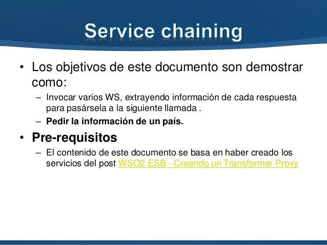 WS02 ESB Service Chaining Slide 2