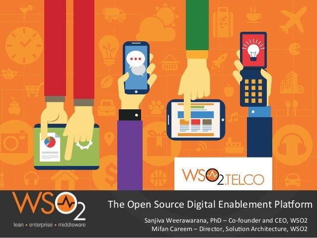 Sanjiva  Weerawarana,  PhD  –  Co-‐founder  and  CEO,  WSO2   Mifan  Careem  –  Director,  Solu?o...
