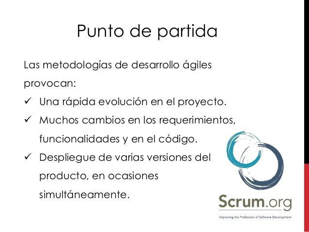 Git with Scrum en español Slide 2