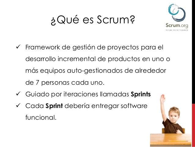 Git with Scrum en español Slide 3