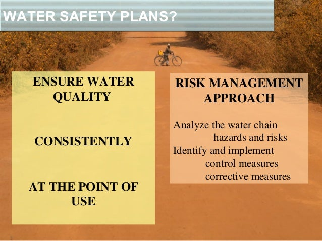 Water Safety Plans For Village Assaini In Drc