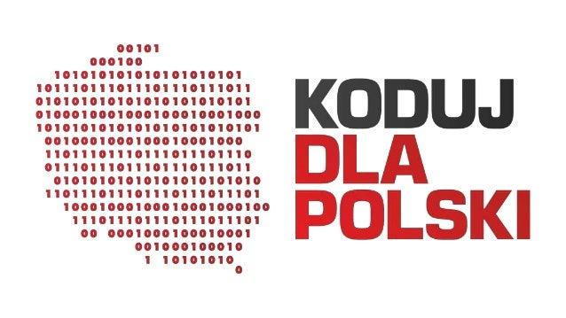 Koduj Dla Polski to społeczność poszukująca technologicznych rozwiązań społecznych wyzwań.