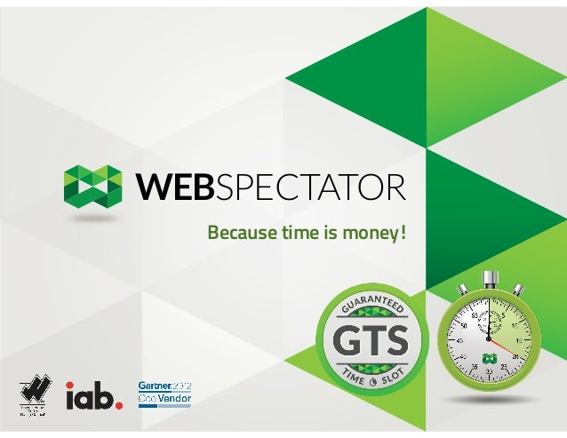 WEBSPECTATOR Because time is money!