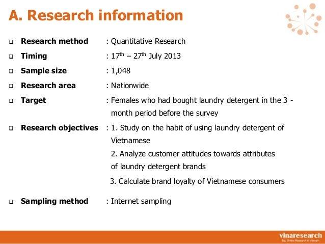 [Report] Laundry Detergent Vietnam Market in Vietnam 2013 Slide 3