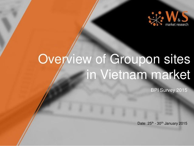 Overview of Groupon sites in Vietnam market BPI Survey 2015 Date: 25th - 30th January 2015