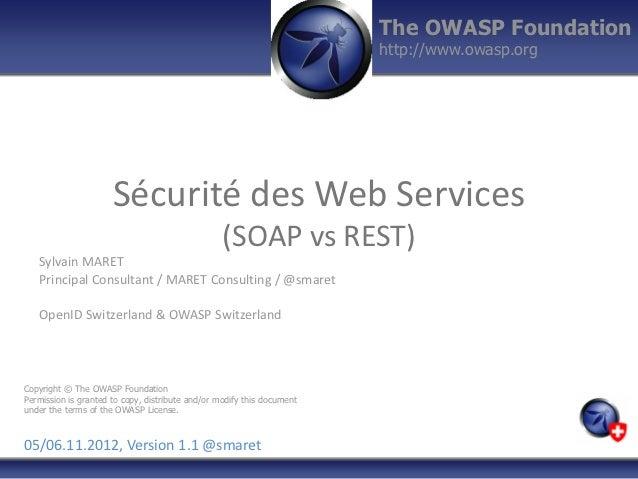The OWASP Foundation                                                                        http://www.owasp.org          ...