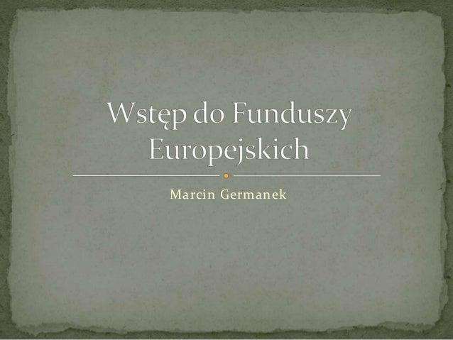 Marcin Germanek