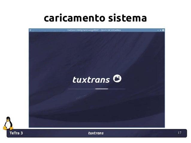 TeTra 3 tuxtrans 17 17 caricamento sistema