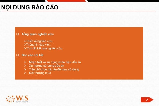 Report About Cooking Oil 2015 - Vietnam Slide 2