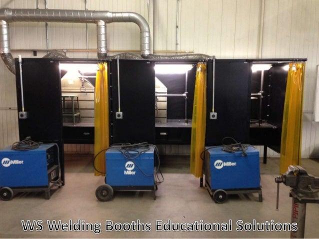 Ws Weld Booths For Welding Schools