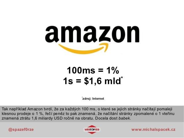 100ms = 1%                                              *                                1s = $1,6 mld                    ...