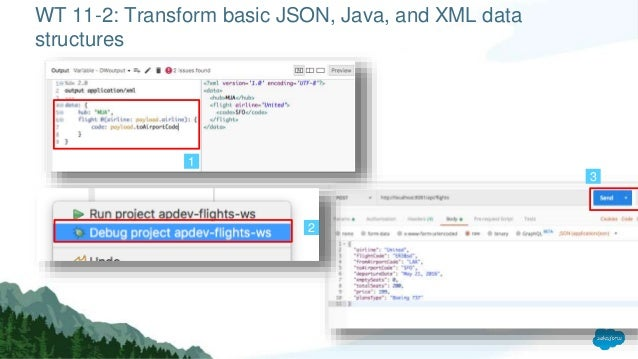 Wt11 writing dataweave transformations
