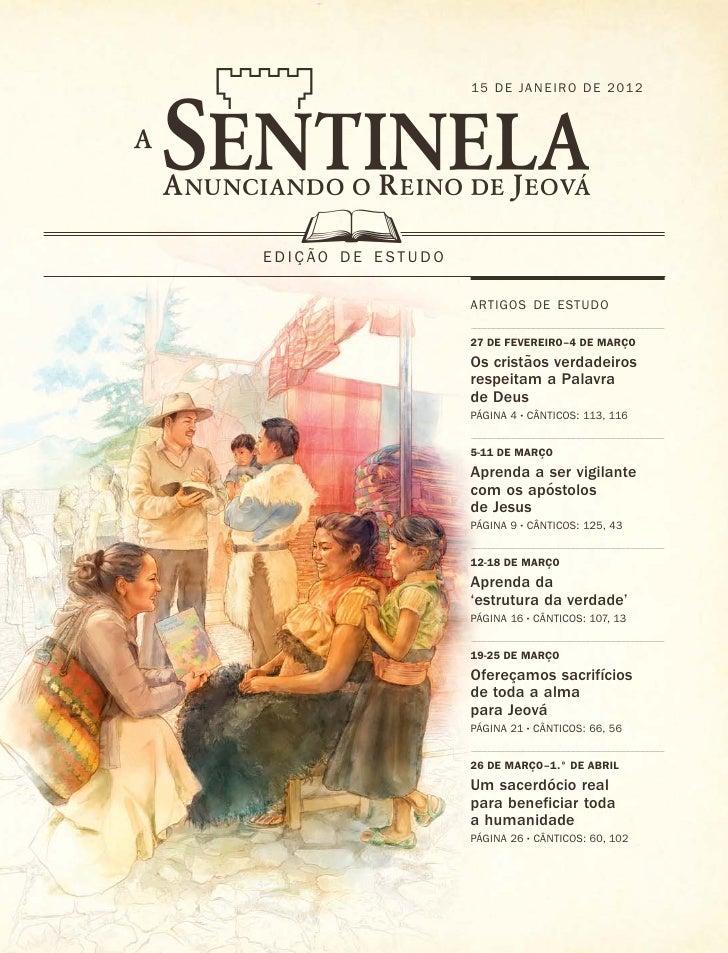 34567                     15 DE JANEI RO DE 2012    D  ˜ EDIC AO DE ESTUDO     ¸                     ARTIGOS DE ESTUDO    ...