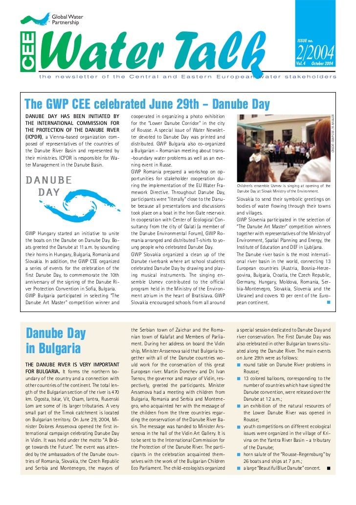 The GWP CEE celebrated June 29th – Danube DayDANUBE DAY HAS BEEN INITIATED BY                   cooperated in organizing a...