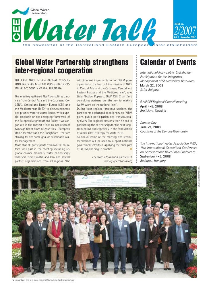 November   Global Water Partnership strengthens                                                                           ...