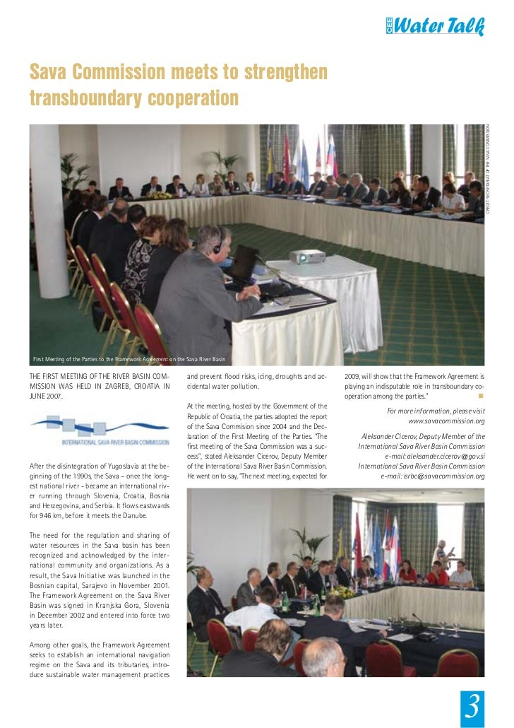 Sava Commission meets to strengthentransboundary cooperation                                                              ...