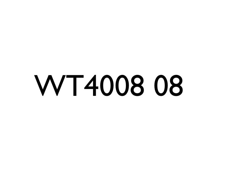 WT4008 08