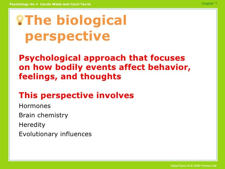 Psychology Overview Powerpoint