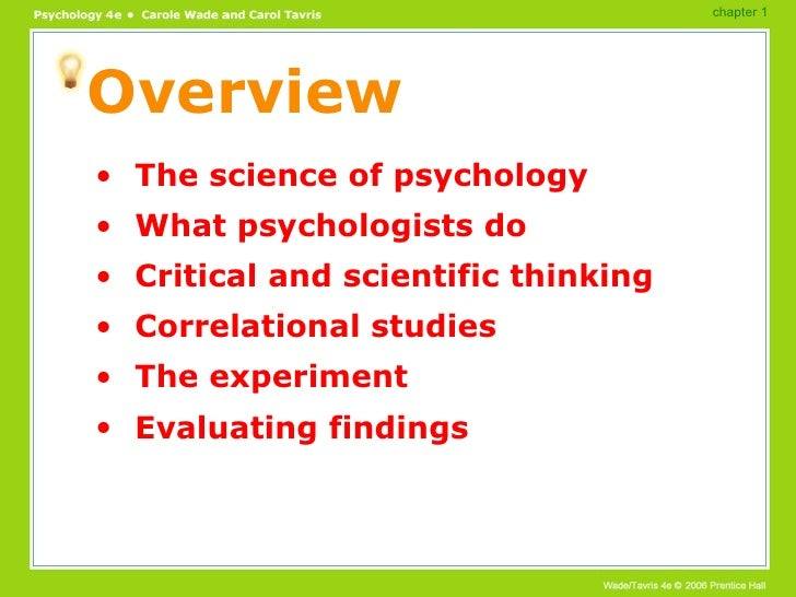 an overview of psychology Educational psychologyadvancing theory and methods to better learning and  performance educational psychology is the study of how humans learn and.