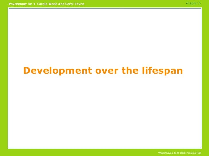 Development over the lifespan chapter 3
