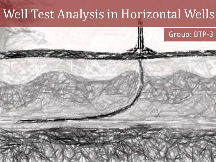 Well Test Analysis in Horizontal Wells                             Group: BTP-3