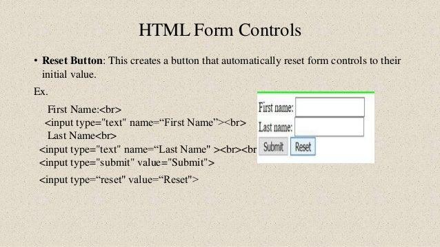 Form using html and java script validation
