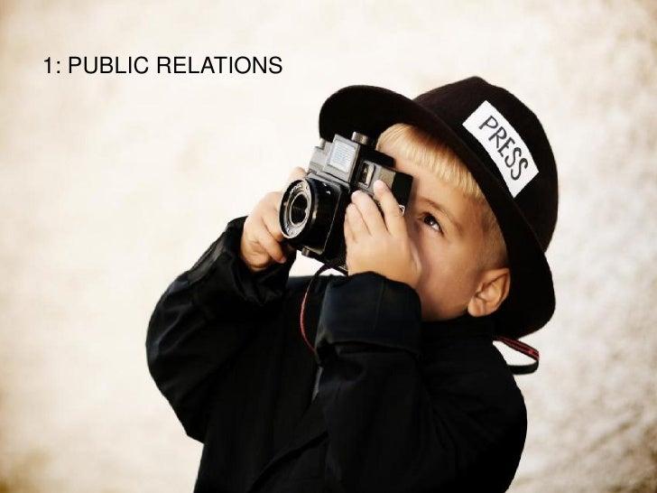 1: PUBLIC RELATIONS