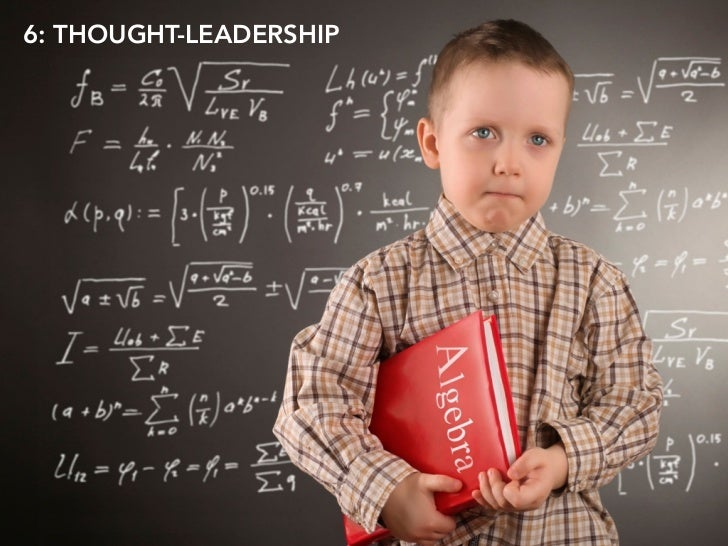 6: THOUGHT-LEADERSHIP