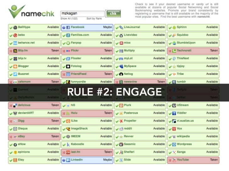 RULE #2: ENGAGE