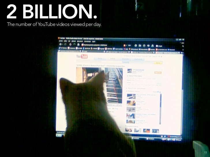 4 BILLION. The number of images hosted on Flickr.                                              12